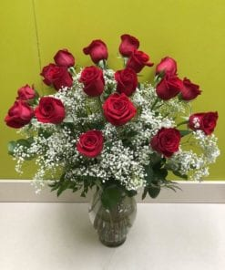 18 Roses - Bergen & Rockland County Florist