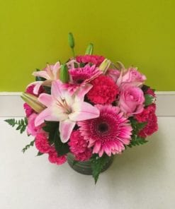Color Me Pink - Floral Arrangement Bergen County NJ - Flor Bella Designs
