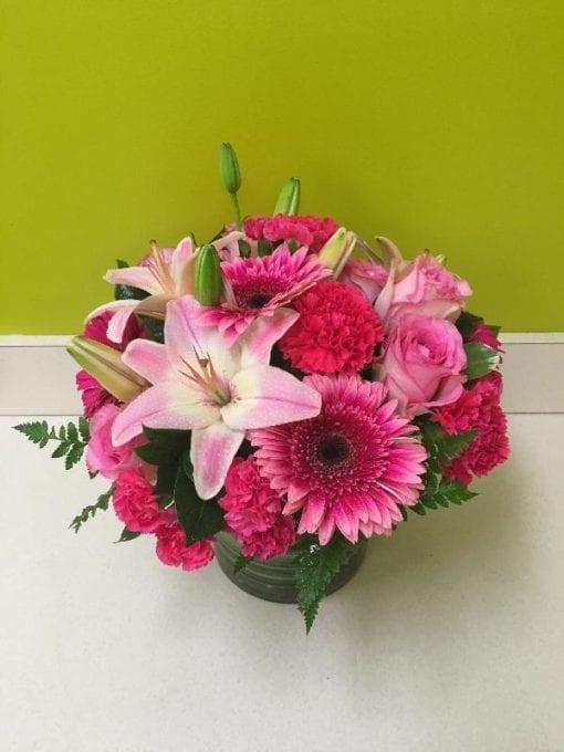 Color Me Pink - Floral Arrangement Bergen County NJ - Flor Bella Designs