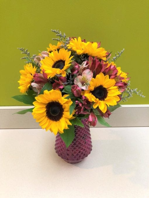 Sunflower Arrangement in Bergen County, NJ