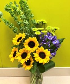Sunflower Splendor - Floral Arrangement in Bergen & Rockland County