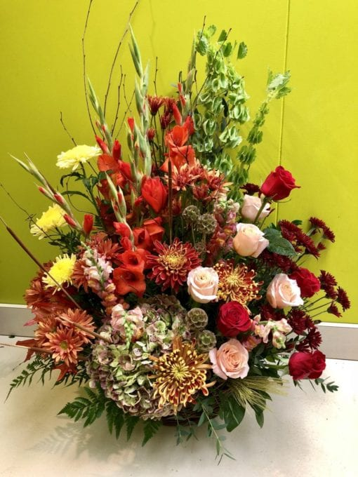 Autumn Floral Piece in Bergen County, NJ