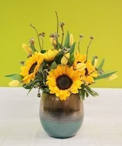 Sunflower Floral Arrangements in Bergen County, NJ